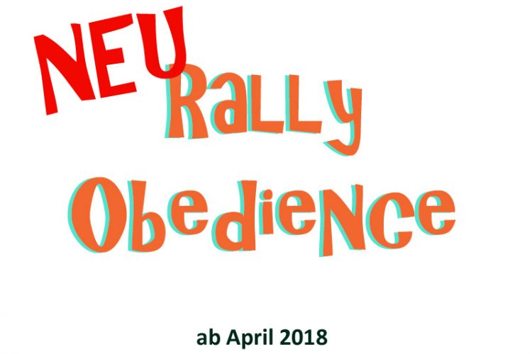 Rally Obedience – Fun Kurs ab Juli